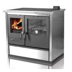 Cocina calefactora de leña...