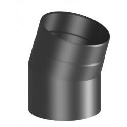 Codo 15º chimenea Ferro-Lux