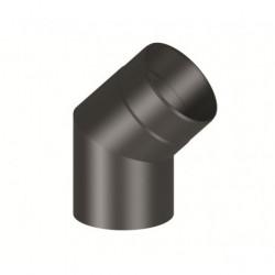 Codo 45º chimenea Ferro-Lux